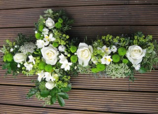 Driftwood Flowers - Funeral tribute