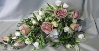 Bespoke bridal spray bouquet