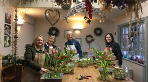 Flower Experience gift vouchers from Driftwood Flowers
