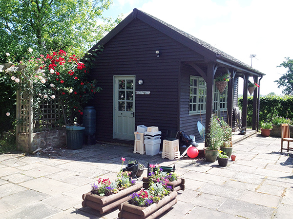 Driftwood Flowers garden workshop