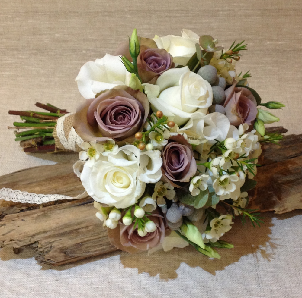Driftwood Flowers - wedding bouquet