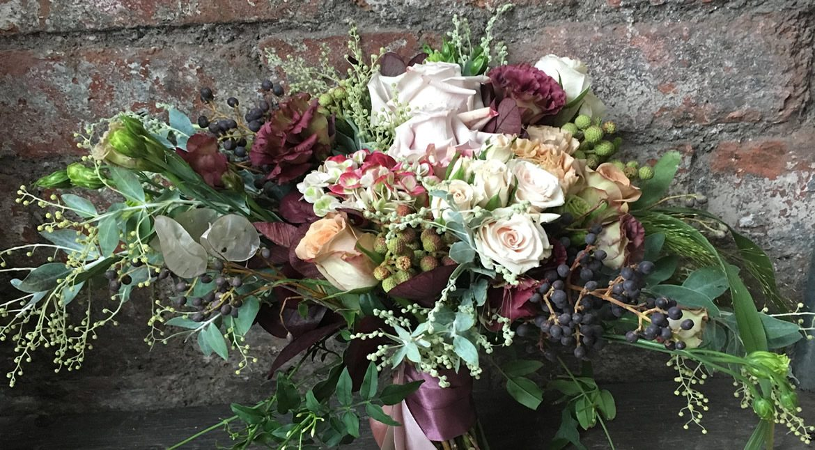 Vintage Bridal Bouquet - Wedding Flowers from Driftwood Flowers