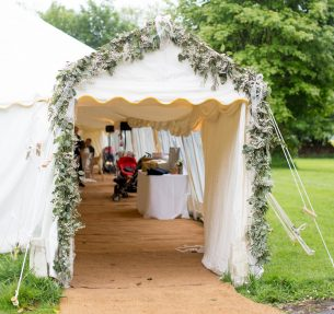 Marquee Entrance Decoration