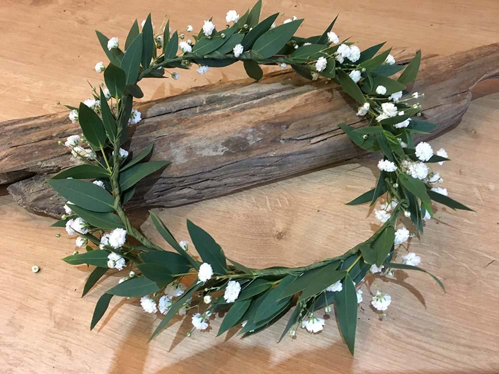 Gypsophilia Bridal Crown