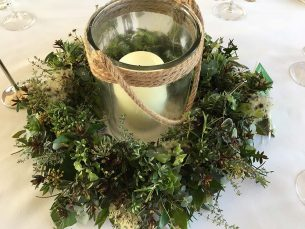 Wedding Reception – Candle Table Centrepiece