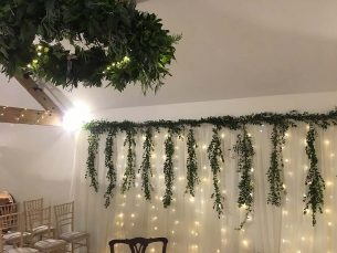 Wedding Wall Foliage