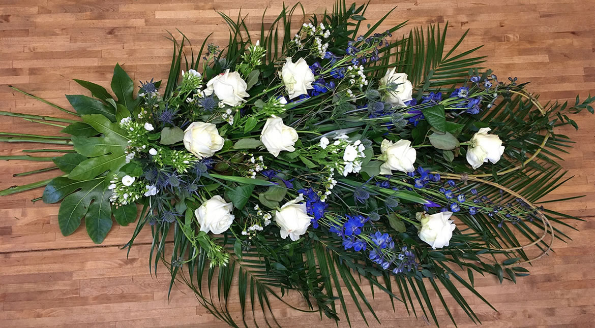 Personal Floral Tribute - Funeral flowers from Driftwood Flowers Chichester