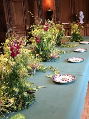Wedding Table Floral Display - Driftwood Flowers Chicheter